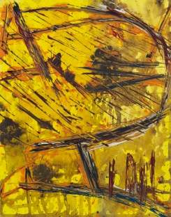 Autumn Tree 24 x 32 cm Acrylic 2012