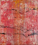 Sunset 1 Dot 26 Acrylic Lacquer 2012