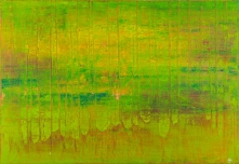 Sunset With Trees 70 x 50 cm Acrylic Lacquer 2012