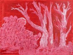 White Trees 40 x 30 cm Acrylic 2011