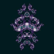 Fractal 280220 Purple Moths 002