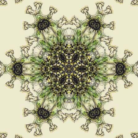 Mandala Rorrim 270220 001 Flower (RMX Mandala Virus 150220)